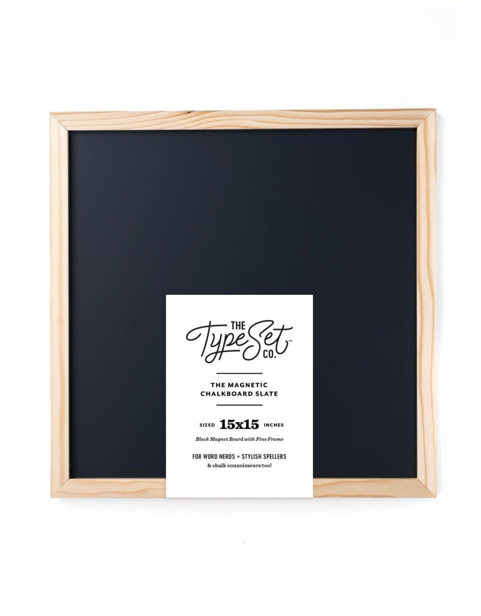 15x15 Black Chalkboard