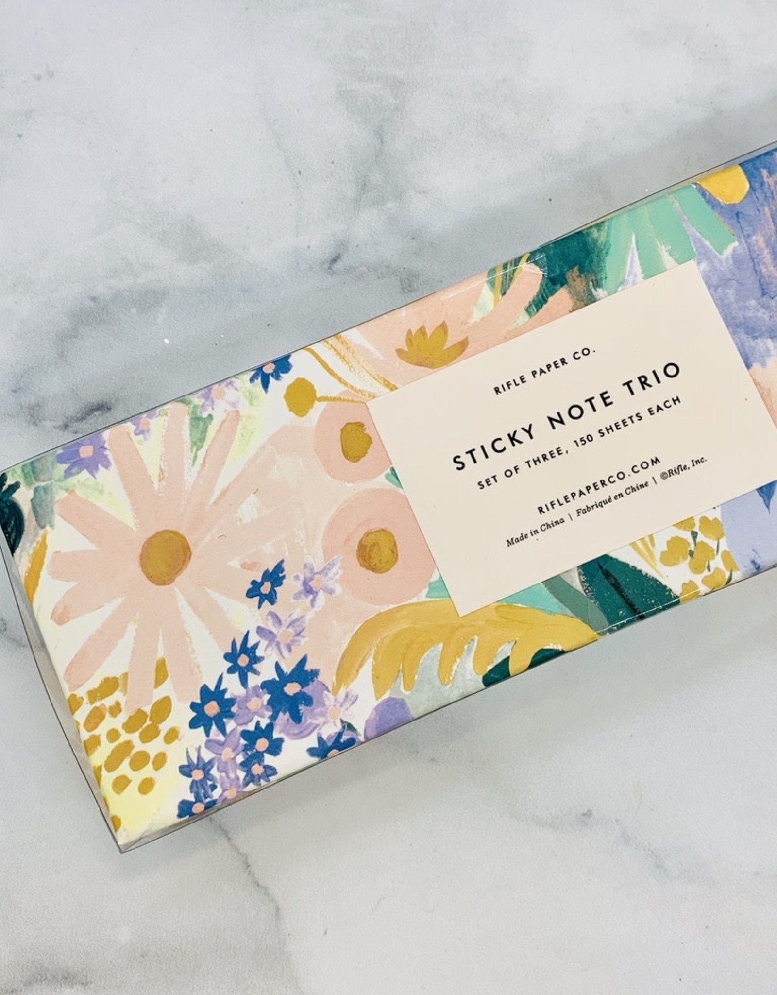 Rifle Paper Co Luisa Sticky Note Trio