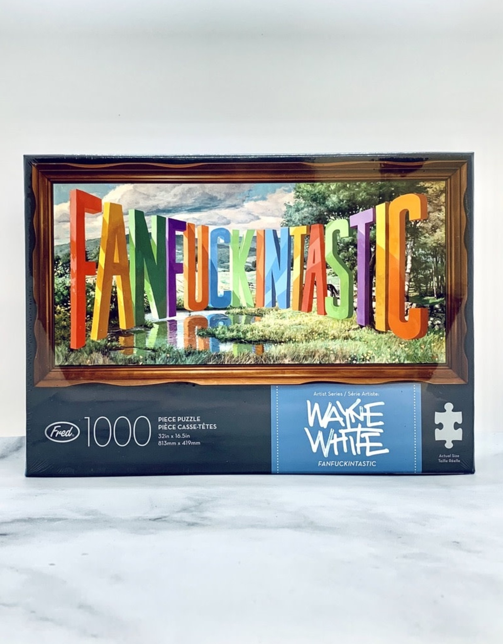 Fred Wayne White Fanfuckintastic 1000 Piece Puzzle