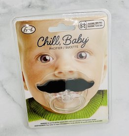 Fred Chill Baby: Lil' Shaver Mustache Pacifier