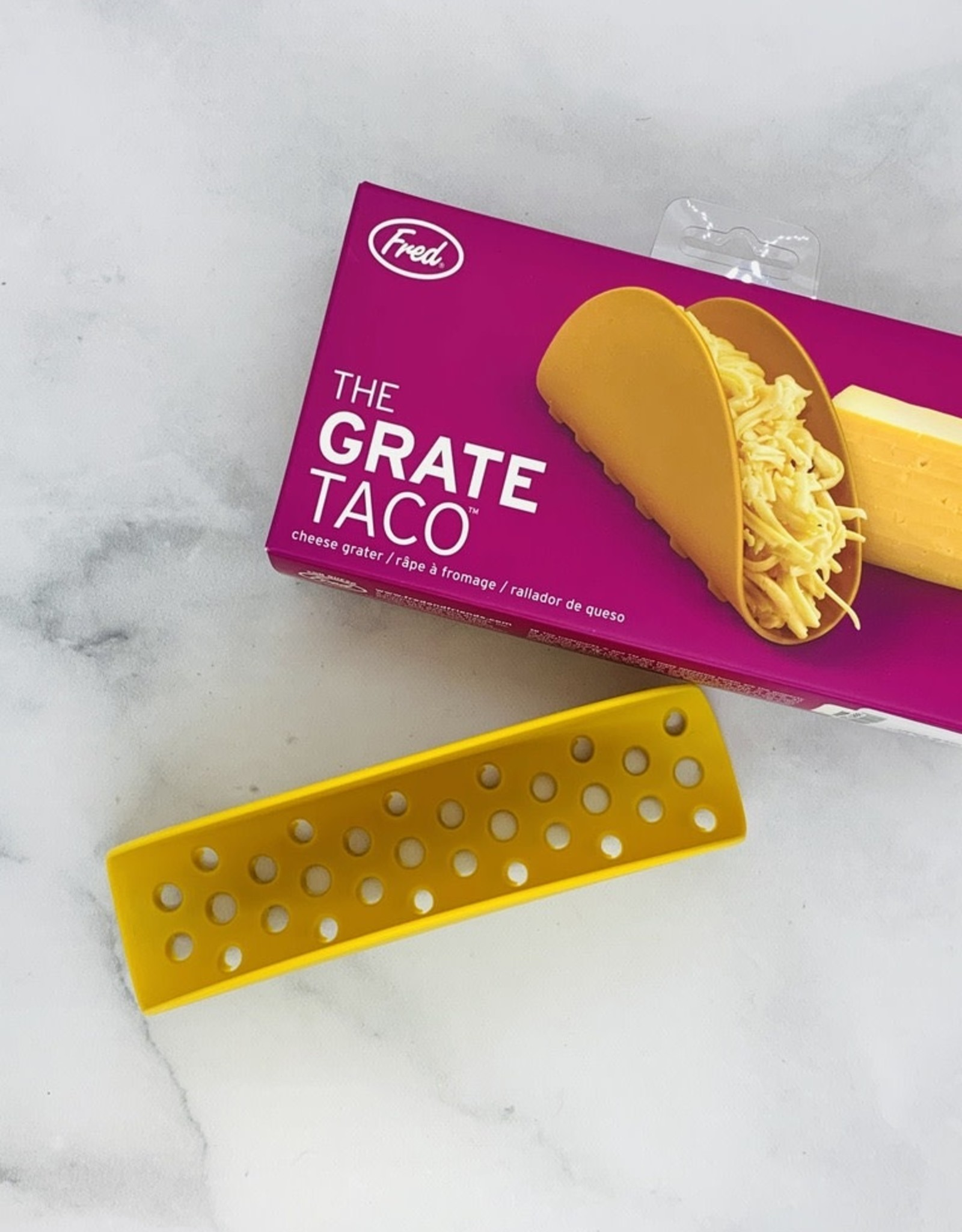 Fred The Grate Taco cheese grater