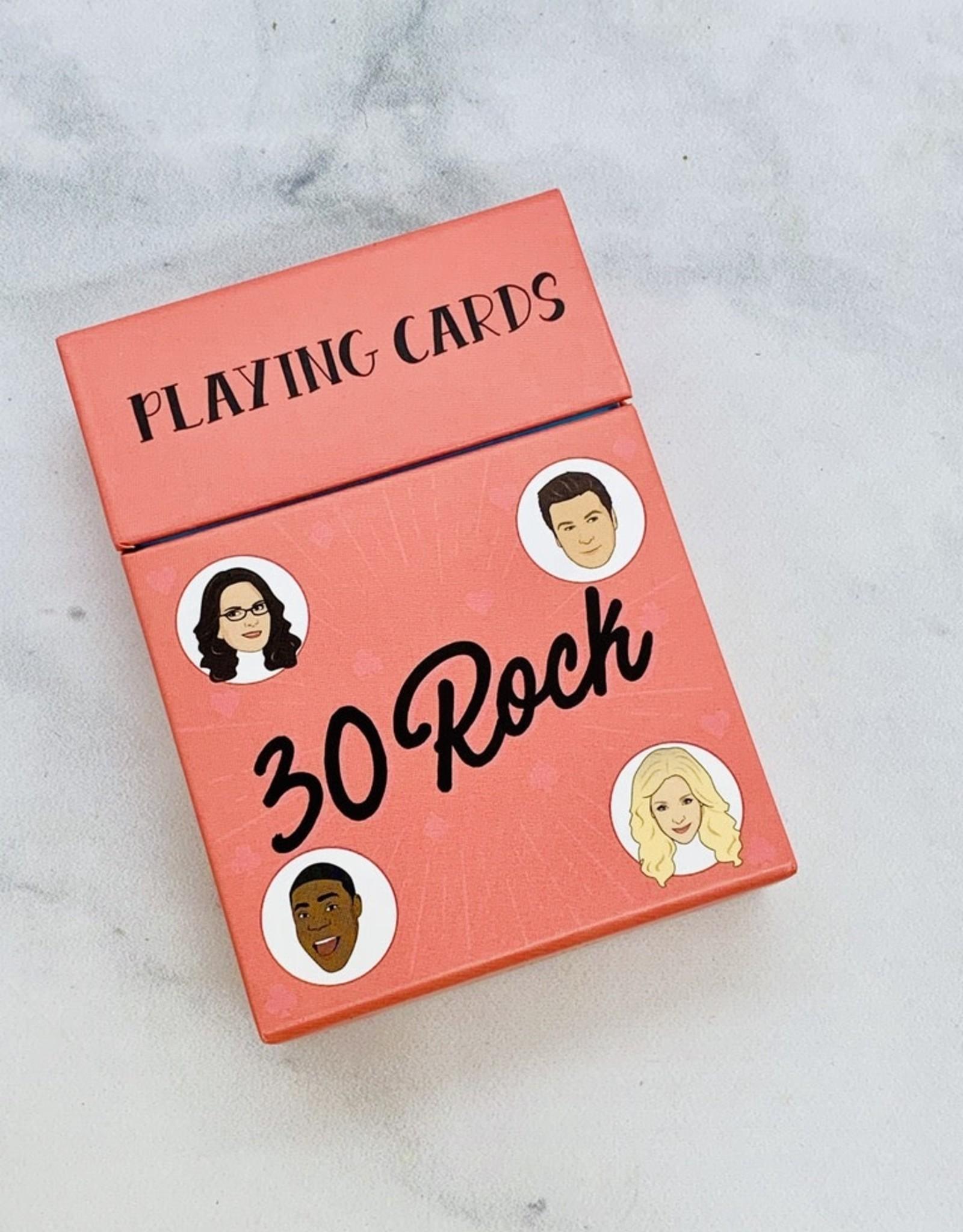 RANDOMHOUSE 30 Rock Playing Cards
