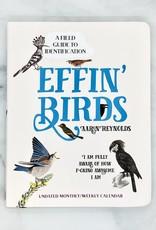 Simon & Schuster Effin' Birds Undated Weekly/Monthly Calendar