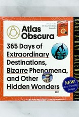 2021 Daily Desk Calendar: Atlas Obscura