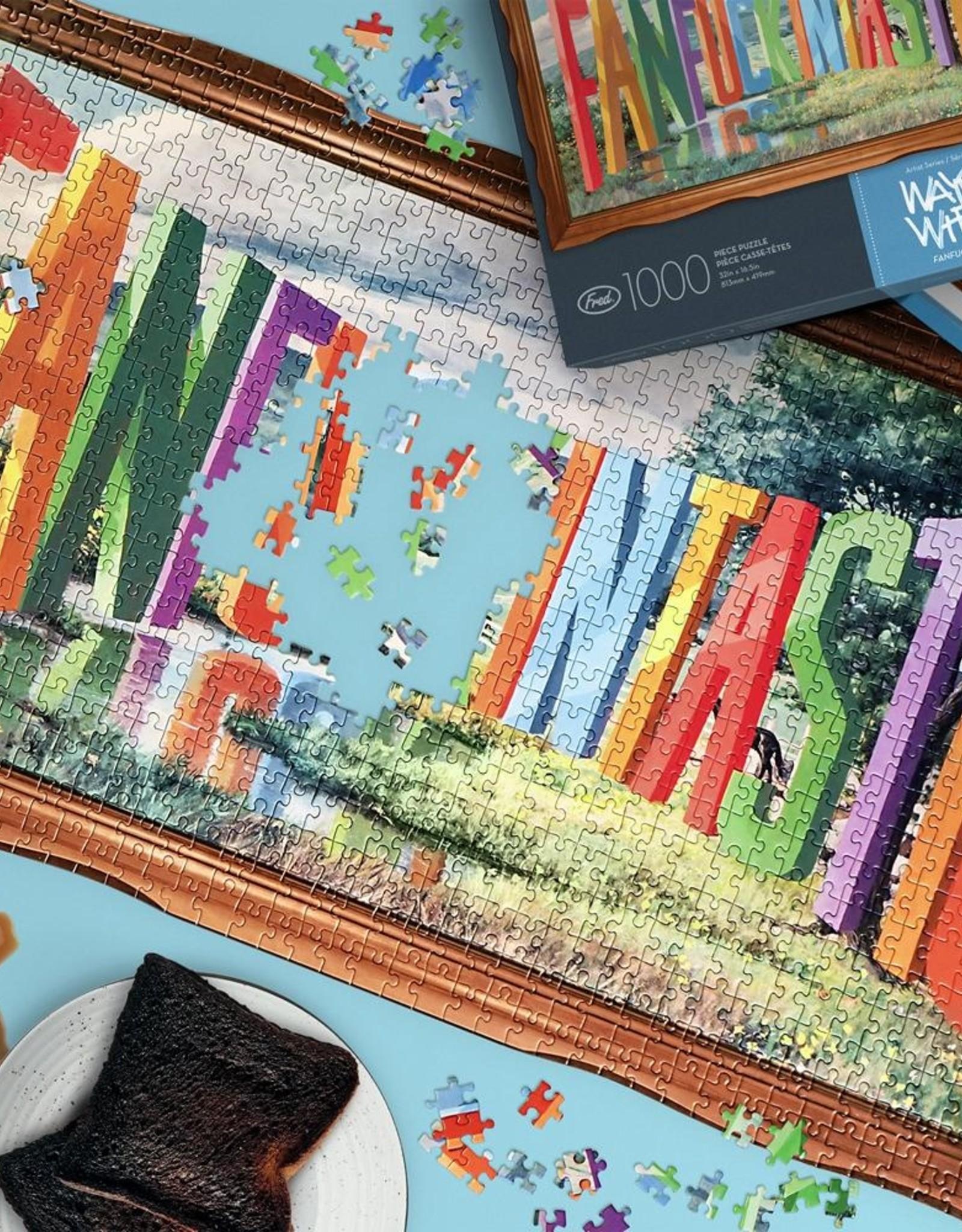 Wayne White Fanfuckintastic 1000 Piece Puzzle