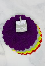 Silicone Floral Trivet Hot Pad