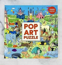 1000-pc Pop Art Puzzle
