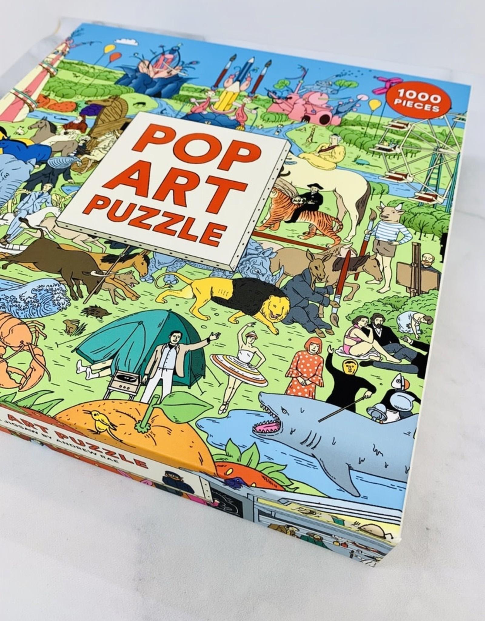 1000-pc Pop Art Puzzle