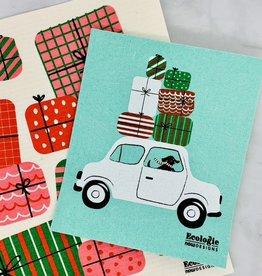 Holiday Swedish Dish Cloths and Towels