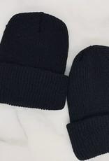Ello There Print Co. Ello There Black Knit Beanie