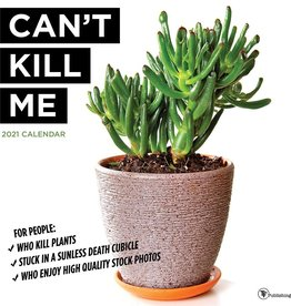TFPUBLISHING 2021 Can't Kill Me Wall Calendar
