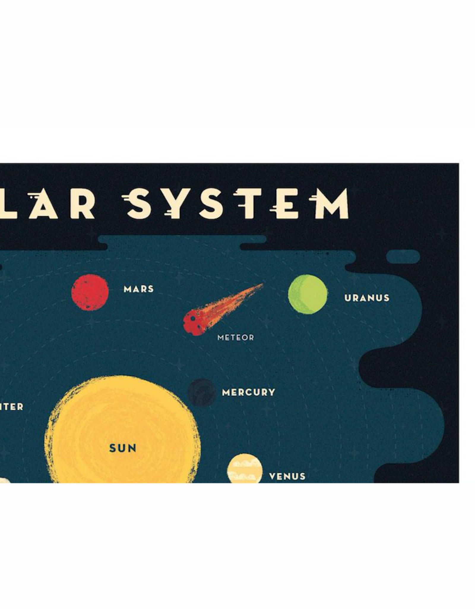 "Solar System 18""x24"" Print"