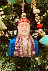 CodyFoster Willie Nelson Ornament
