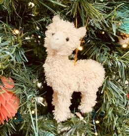 "CREATIVECOOP 5""H Furry Llama Ornament"