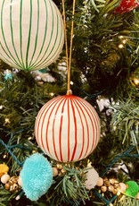 "CREATIVECOOP 3"" Paper Mache Holiday Ball Ornaments"