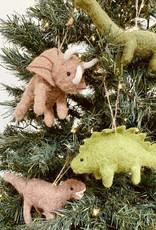 "CREATIVECOOP 4-3/4'"" Wool Felt Dinosaur Ornament"