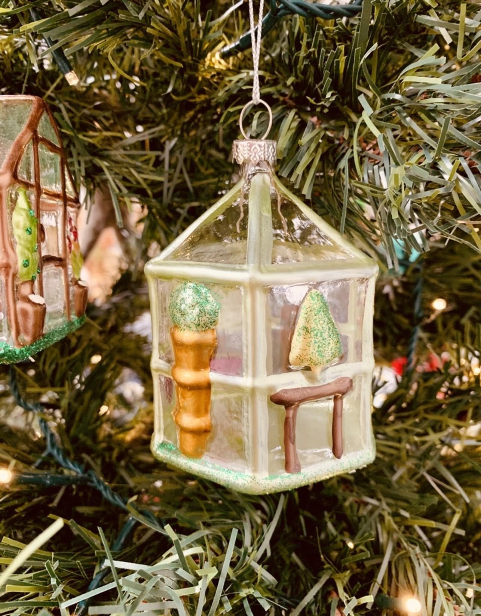 "CREATIVECOOP 3-1/2"" Glass Greenhouse Ornament"