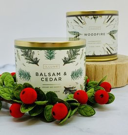 Illume Balsam & Cedar Holiday Collection