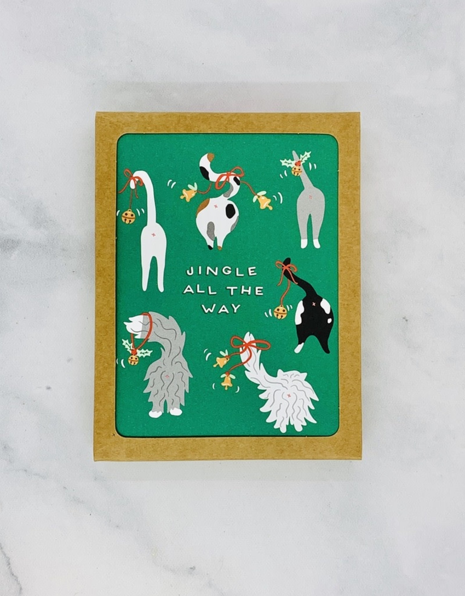 Jingle Tails Cards 8 Boxed