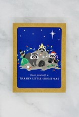 Party of One Trashy Little Christmas Cards 8 Boxed