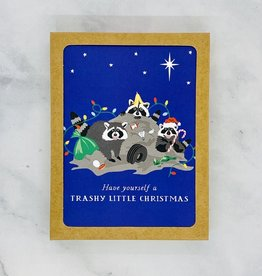 Party of One Trashly Little Christmas Cards 8 Boxed
