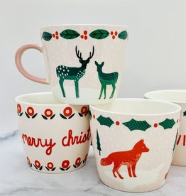 12oz Holiday Stoneware Mug with