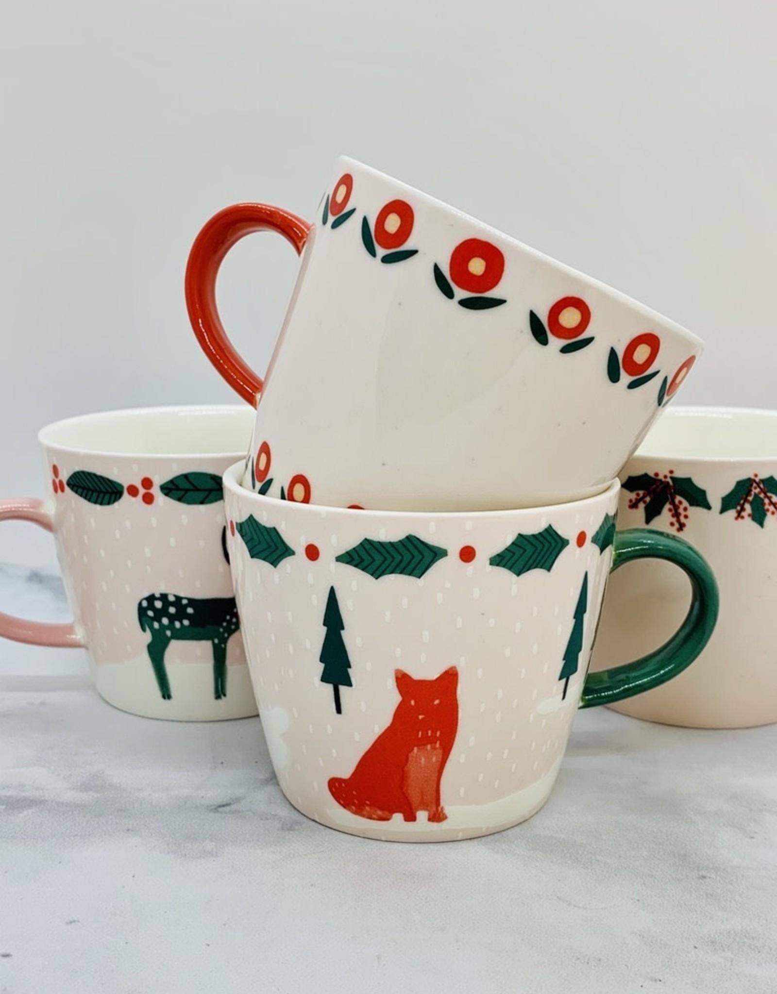 12oz Holiday Stoneware Mug with