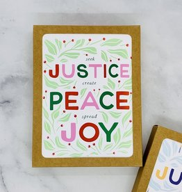 Party of One Justice Christmas Cards 8 Boxed