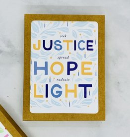 Party of One Justice Hanukkah Cards 8 Boxed