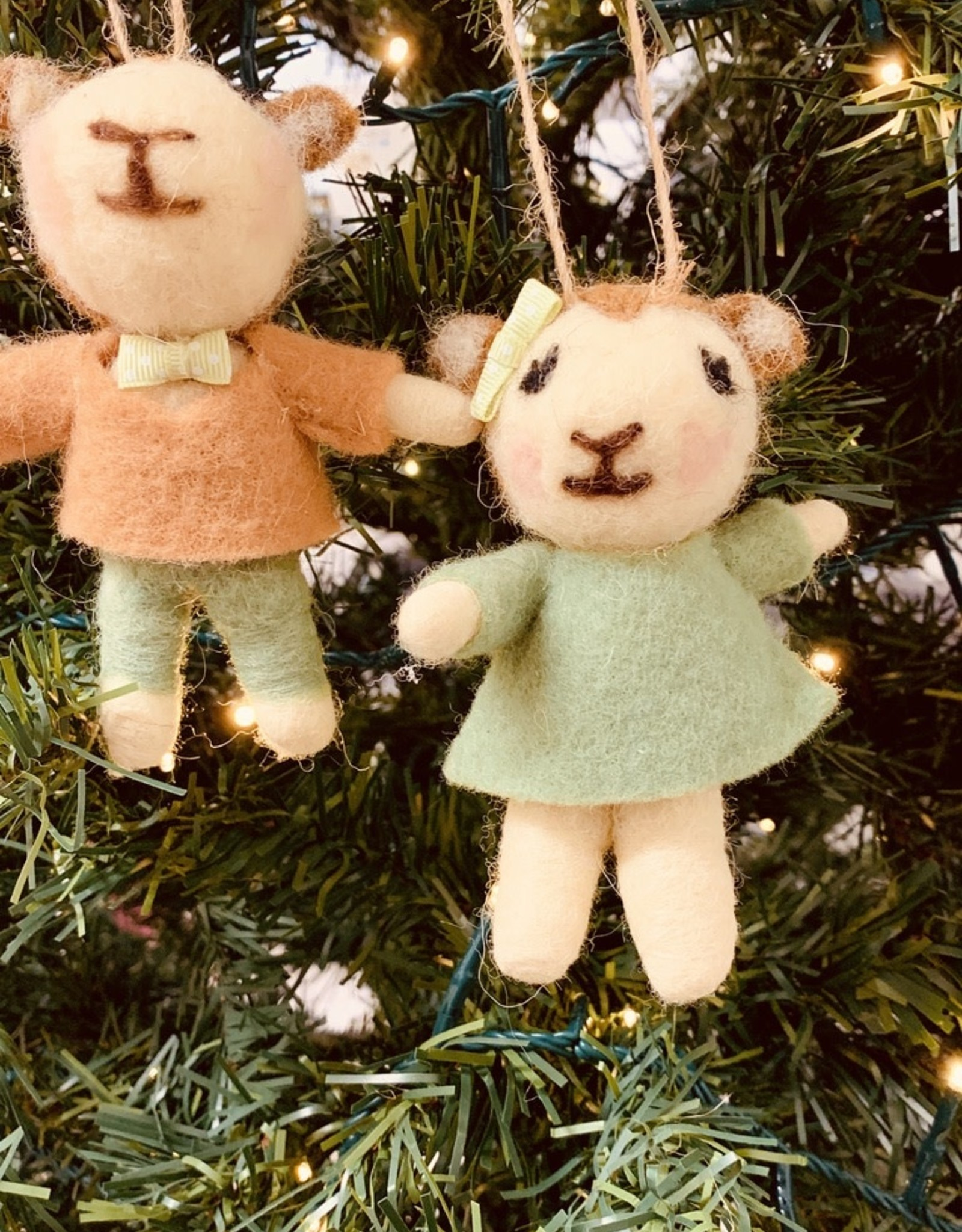Felt Lamb Ornament