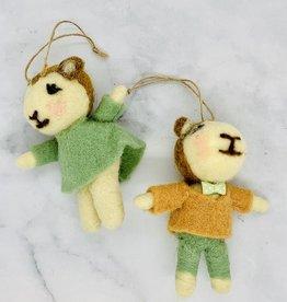 Homart Felt Lamb Ornament