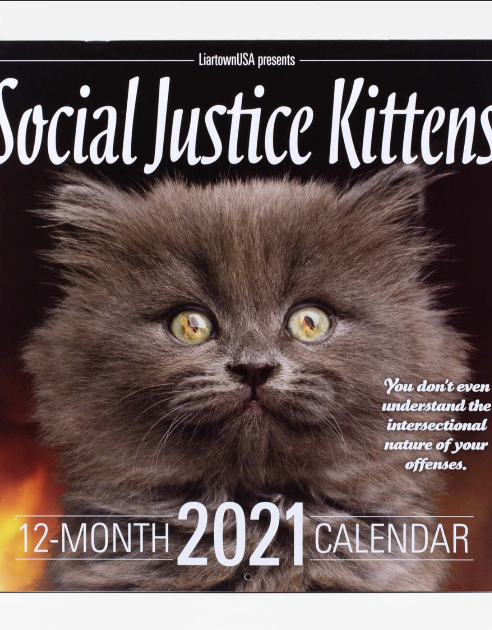 BUYOLYMPIA Social Justice Kittens 2021 Calendar