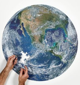 Four Point Puzzles The Earth - Round Puzzle