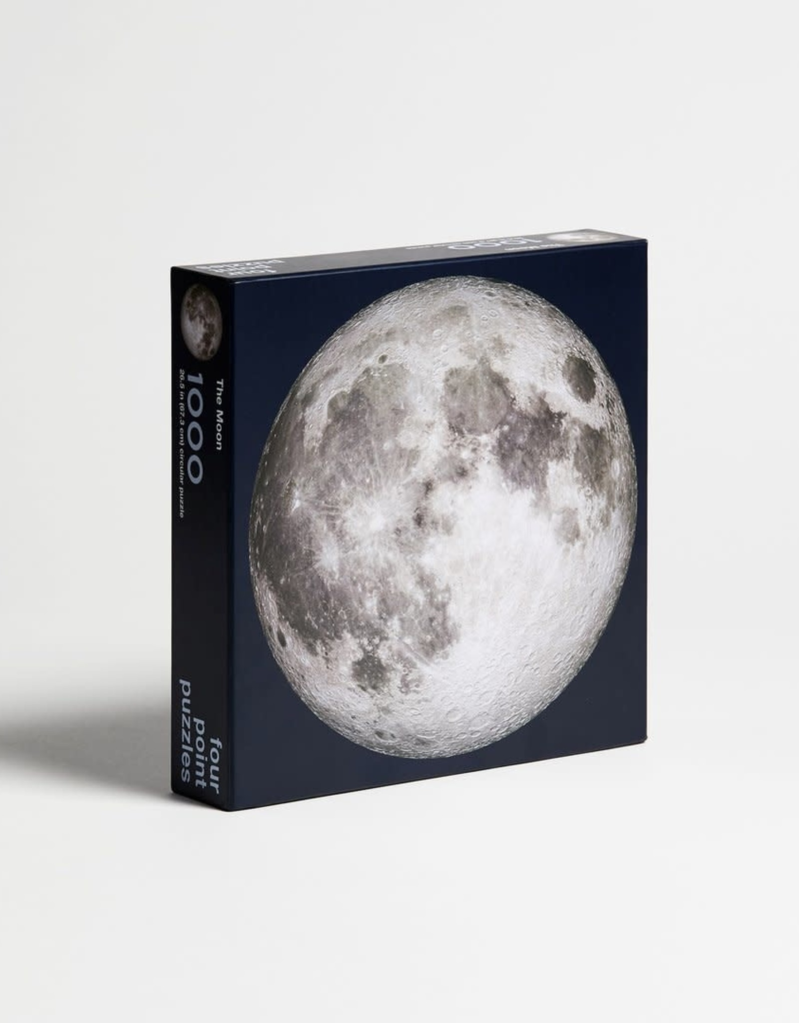Four Point Puzzles The Moon - Round Puzzle