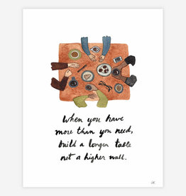 """BUYOLYMPIA When You Have More Than You Need 8.5""""x11"""" Print"""