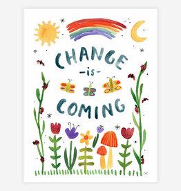 "BUYOLYMPIA Change is Coming 8.5""x11"" Print"