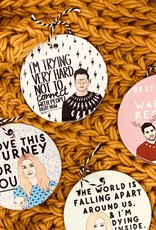 Citizen Ruth Schitt's Creek Ornaments