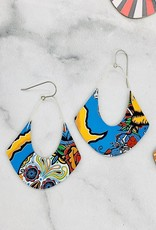 Upcycled Beer Can Earrings, Em