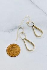 J&I Handmade 14kt Gold Filled Double Drop Earring