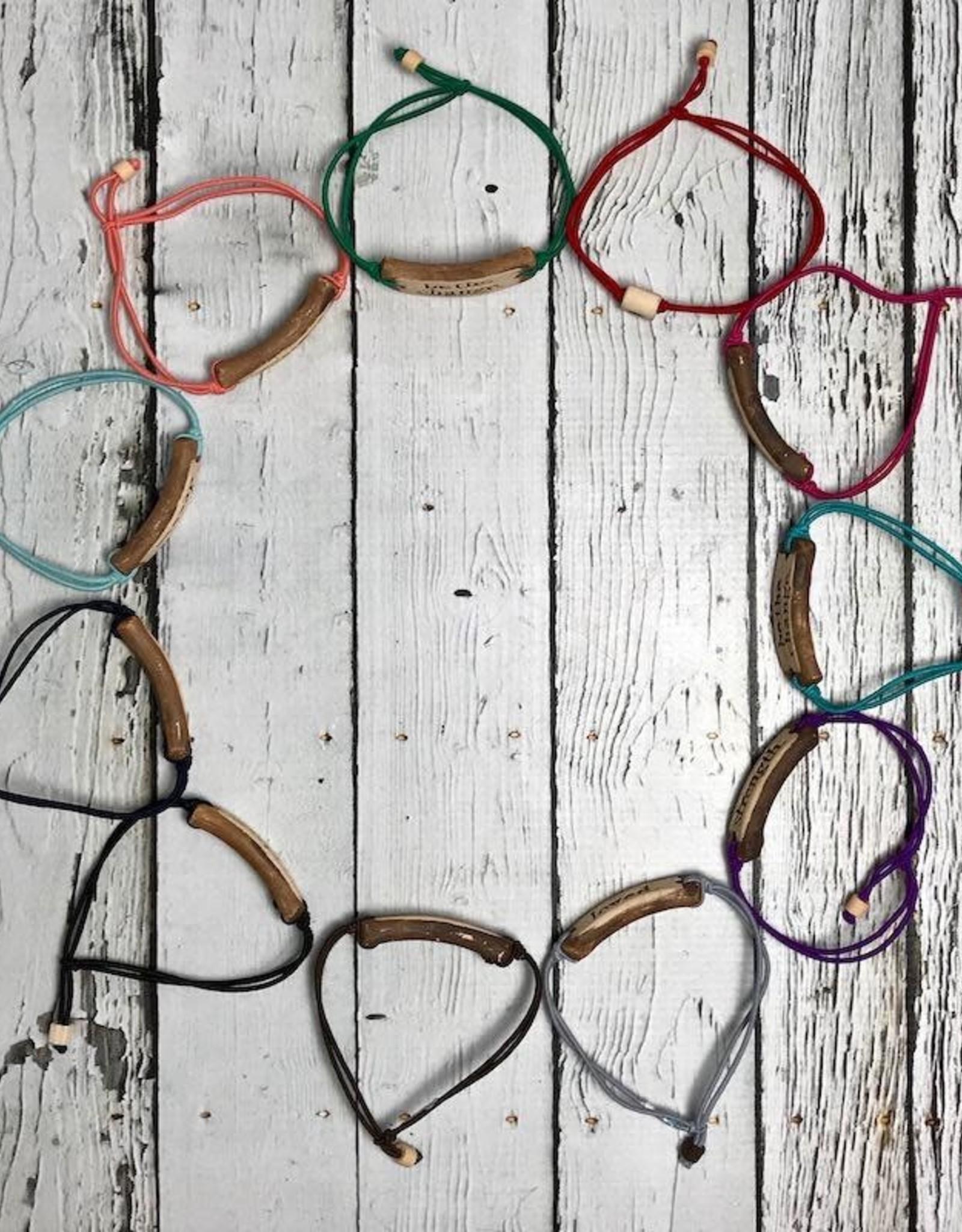 Handmade adjustable Mudlove Bracelet