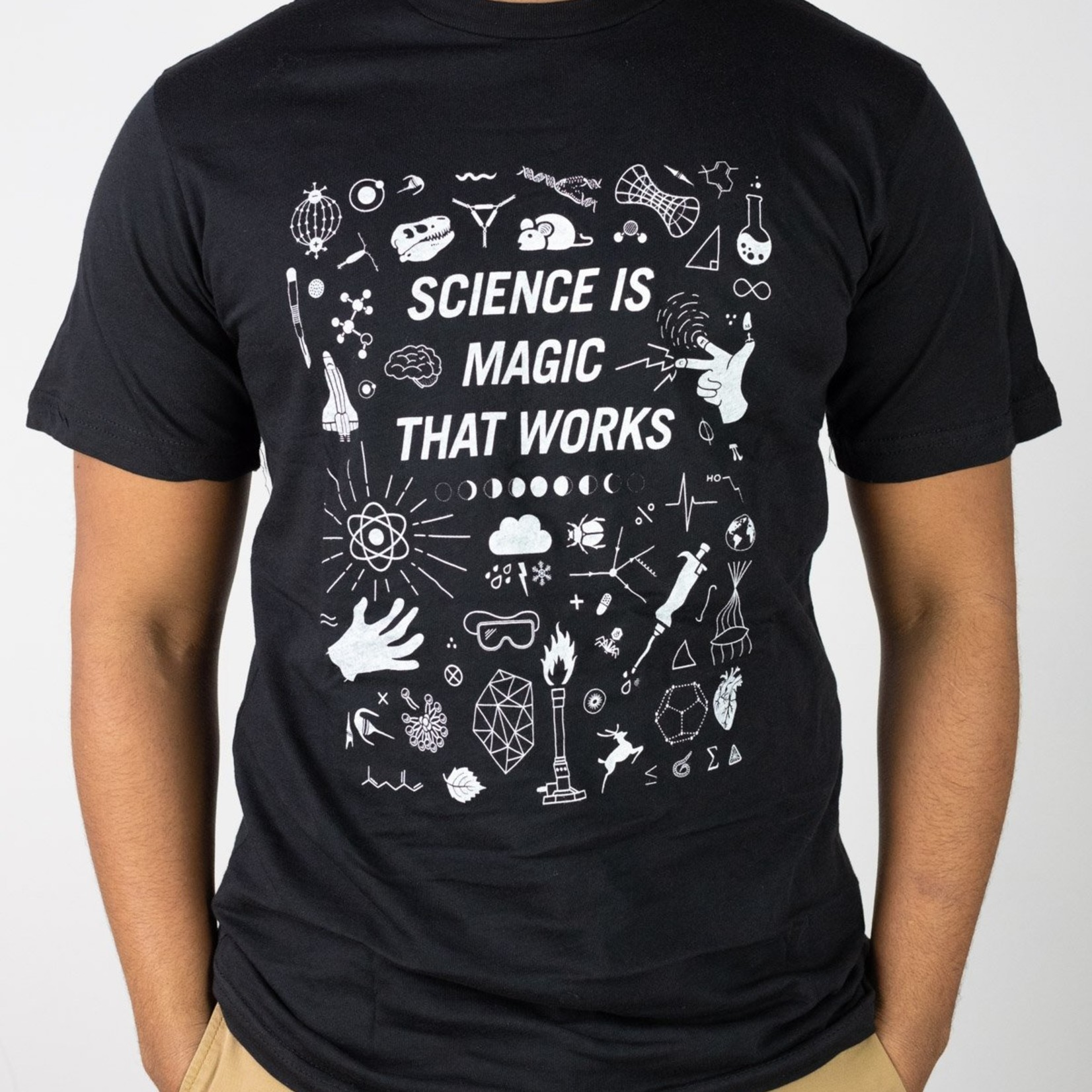 Cognitive Surplus Science is Magic That Works Unisex Tee