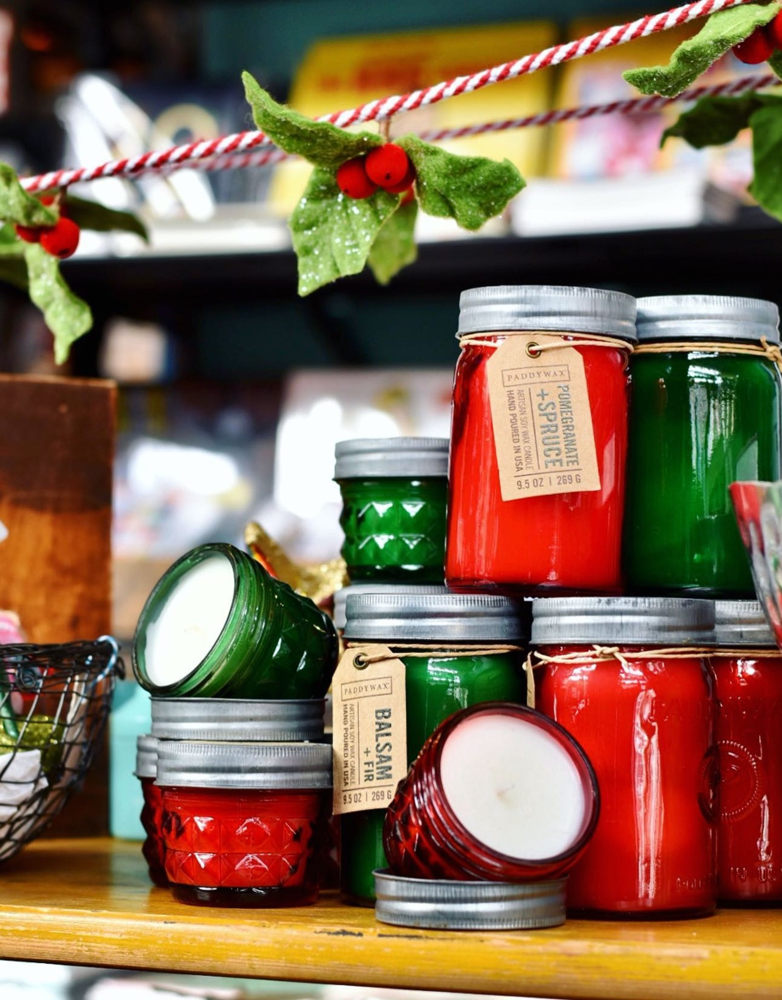 Paddywax Relish Holiday 9.5oz Candles