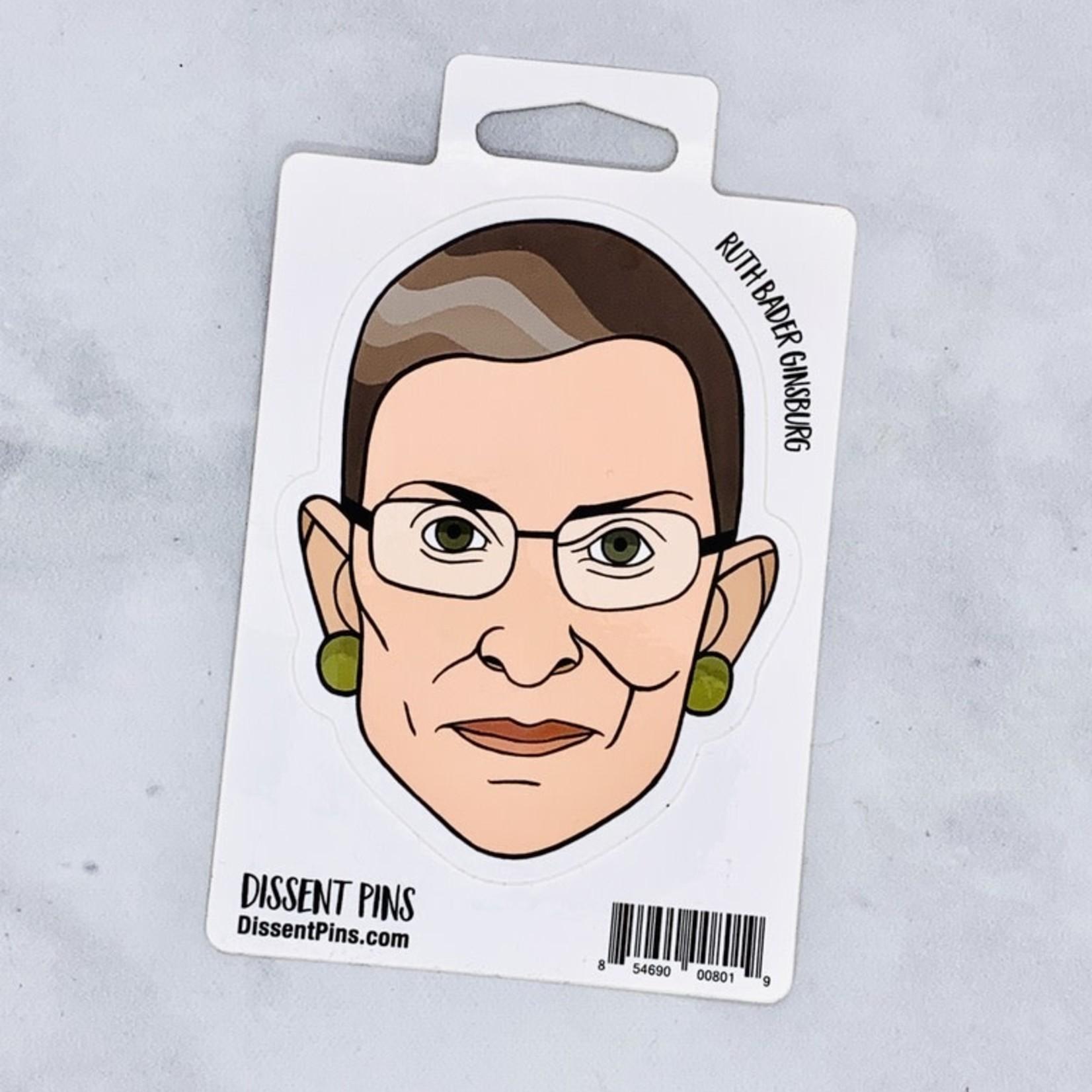 Ruth Bader Ginsburg Sticker