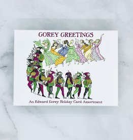 Edward Gorey Greetings Boxed Holiday Cards: Assorted  20 Cards & Envelopes, 5ea of 4 designs