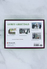 POMEGRANATE Edward Gorey Greetings Boxed Holiday Cards: Assorted  20 Cards & Envelopes, 5ea of 4 designs
