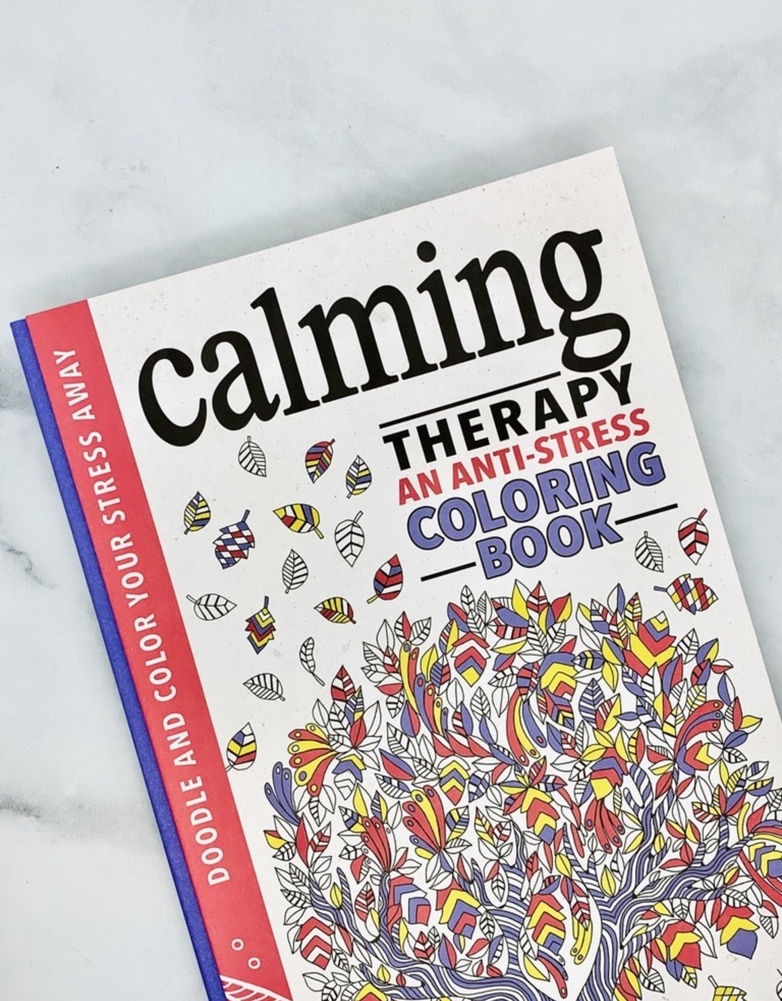 Calming Therapy: An Anti-Stress Notebook