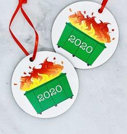 Aspen Lane 2020 Dumpster Fire Ornament