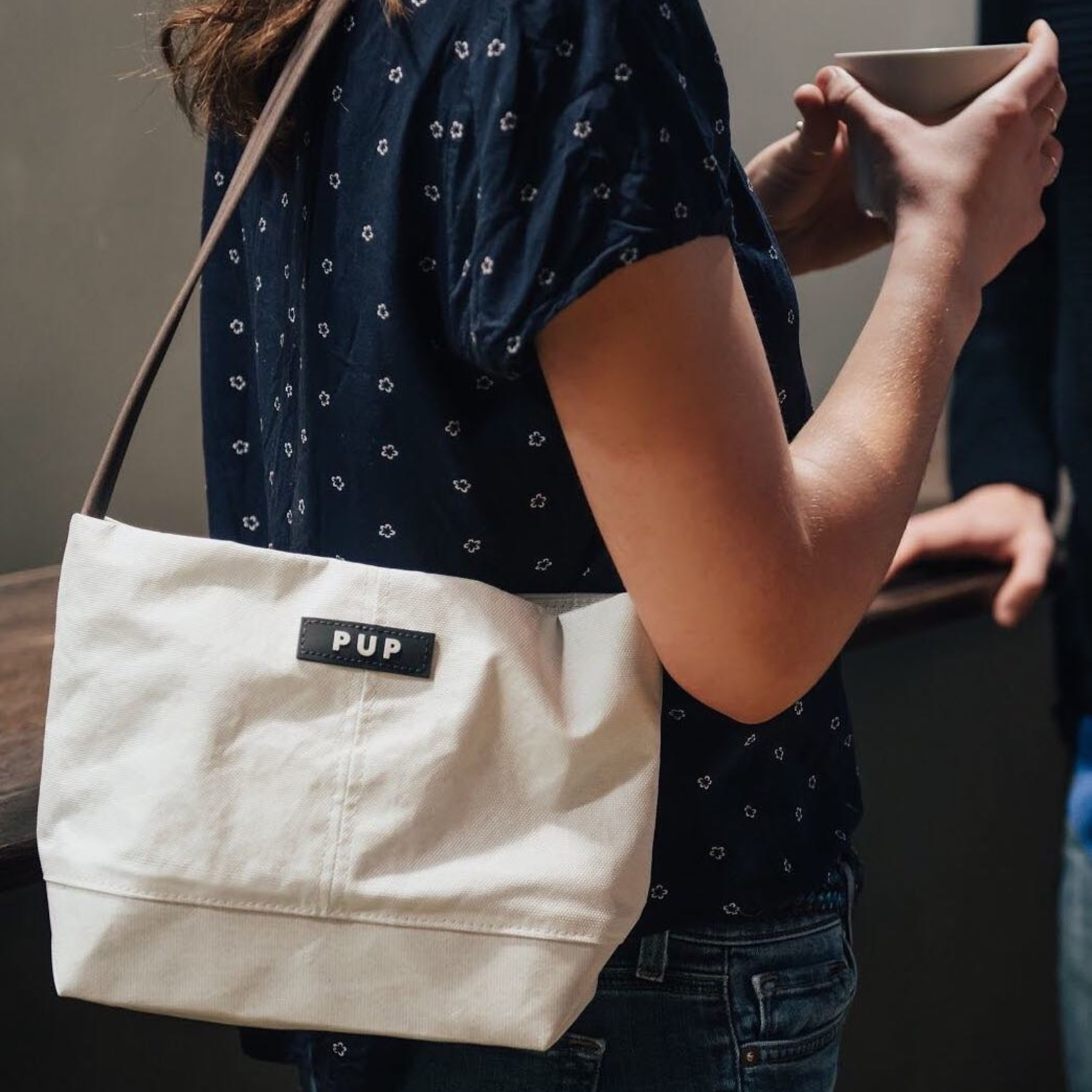 Intern Handbag Made From the Roof of the RCA Dome