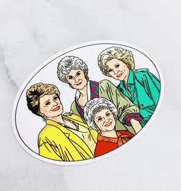 THEFOUND Golden Girls Oval Sticker