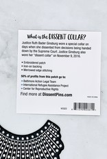 Dissent Collar Patch